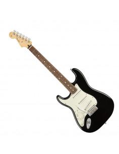 Fender - Player Stratocaster® Left-Handed, Pau Ferro Fingerboard, Black