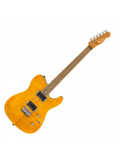 Fender - Special Edition Custom Telecaster® FMT HH, Laurel Fingerboard, Amber