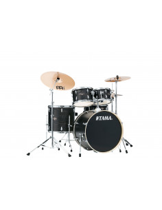 Tama - IE52KH6W-BOW Imperialstar Black Oak Wrap 5pc shell+6pc HW kit