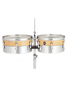 """Meinl,HYT1314,13""""/14"""" Hybrid Timbales"""