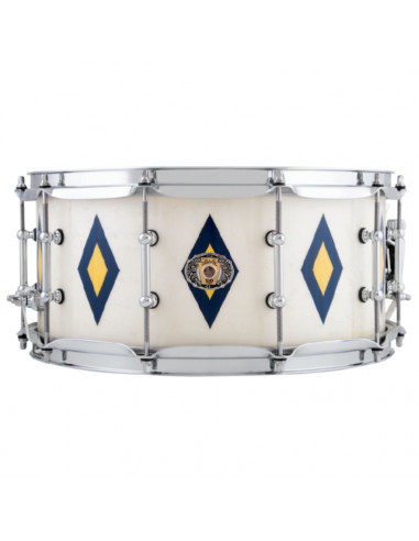 "Ludwig - LLS503XXCX - 6.5""x14"" Legacy Mahogany 110th Anniversary Snare Drum - Diamond Flash Inlay"