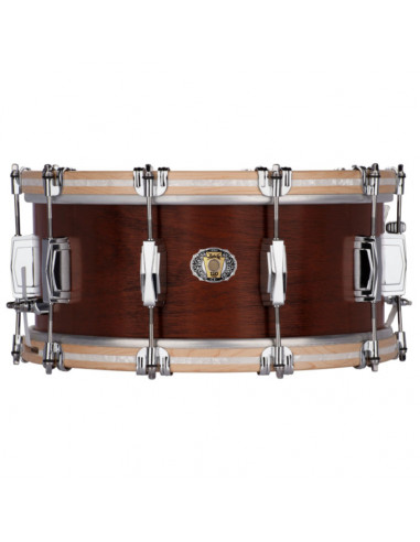 "Ludwig - LLS503XXVBCX - 6.5""x14"" Legacy Mahogany 110th Anniversary Van Buren Snare Drum"