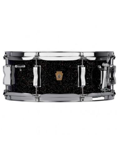 "Ludwig - LS908BG - 5.5""x14"" Legacy Mahogany ""Jazz Fest"" Snare Drum - Black Galaxy"