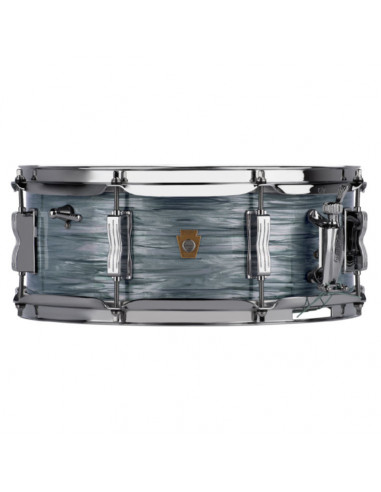 "Ludwig - LS9082Q - 5.5""x14"" Legacy Maple ""Jazz Fest"" Snare Drum - Vintage Blue Oyster"