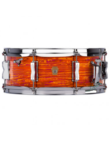 "Ludwig - LS90851 - 5.5""x14"" Legacy Maple ""Jazz Fest"" Snare Drum - Mod Orange"