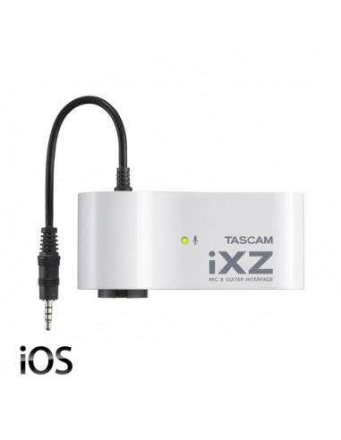 Tascam - IXZ Mic/Guitar Interface for iPad, iPhone and iPod
