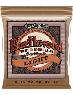 Ernie Ball - 2148 Earthwood Acoustic Light P/Bronze .011 .015 .022 .030 .042 .052