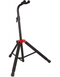 Fender - Fender Deluxe Hanging Guitar Stand,Black/Red
