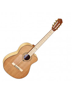 Ortega,RCE179SN-25TH 25th Anniversaire,Classic Guitar Cutaway