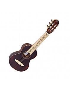 Ortega, RGL-25TH 25th Anniversaire, Guitarlele ziricote Electro