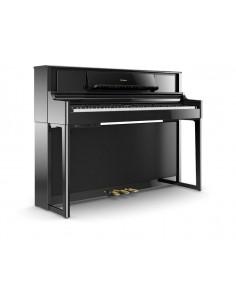 ROLAND, LX-705 PE Pianos numériques finition charcoal polished ebony