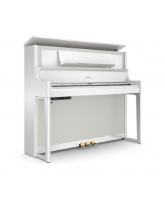 ROLAND, LX-708 PW Pianos numériques finition charcoal polished white