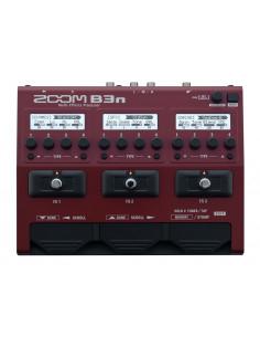 ZOOM, B3n Bass Effects & Amp Simulator Pedal
