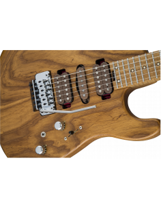 Charvel, Guthrie Govan Signature HSH Caramelized Ash, Caramelized Flame Maple FB, Natural