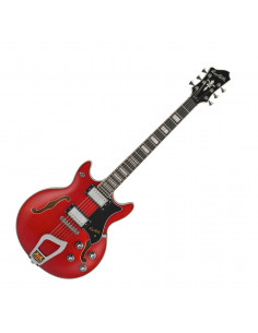 Hagstrom - ALVAR04 - électrique, Alvar, Wild Cherry Transparent