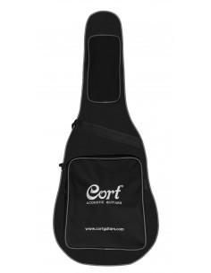 Cort - CGB38BR - Housse CGB38 noir pour folk