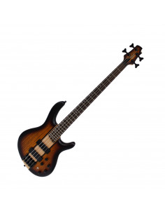 Cort - C4POTAB2 - basse C4 Plus ZBMH Open Pore Tobacco Burst