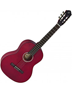 Ortega - RST5MWR Student Serie Classic Epicéa/Catalpa Satin Wine Red