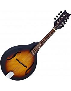 Ortega - RMA5VS A-Style Serie Mandoline Acajou/Acajou Open Pore Satin Vintage Burst