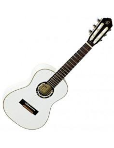 Ortega - R121-1/4WH Nylon String Guitar Family Serie Spruce Top White