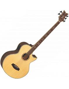 Ortega - KTSM-5FL Signature Acoustic Bass Epicea/Acajou Flamé Massif 5 cordes El Ctw Fl High Gloss