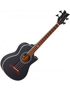 Ortega,D-WALKER-BK Acoustic Bass Deep Travel Serie