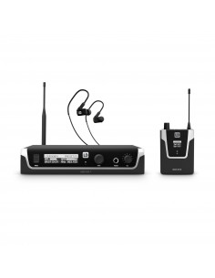LD Systems, U508 IEM HP, In-Ear Monitoring System with Earphones