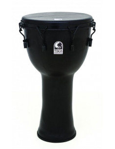 "TOCA - 10"" Freestyle Mechanical Tuned Djembe, Black Mamba"