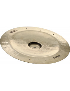 "Stagg – SEN-CH14BZZ - 14"" Sensa China Sizzle"