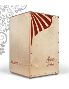 J.LEIVA - CAJON Alma Red (lacquered)