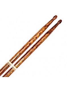 PRO MARK - Drumstick WoopTip Hickory - 5B Fire Grain