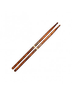 PRO MARK - Drumstick WoopTip Hickory - 7A Fire Grain