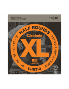 D'Addario - EHR310, Regular Light 10-46,Half Round