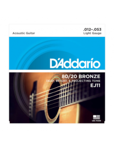 D'Addario - EJ11,Light 12-53,Bronze