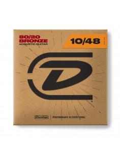 Dunlop - CDUDAB1048,Extra Light 10-48,Bronze