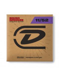 Dunlop - CDUDAB1152,Medium Light 11-52,Bronze