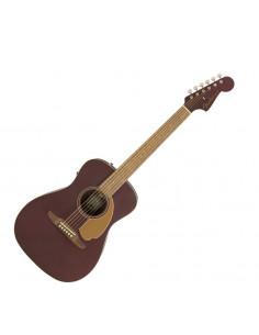 Fender - Malibu Player, Walnut Fingerboard, Burgundy Satin