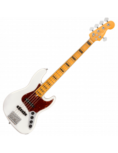 Fender, Am Ultra Jazz Bass V, Maple, Arctic Pearl
