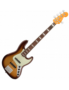 Fender, Am Ultra Jazz Bass V, Rosewood, Mocha Burst