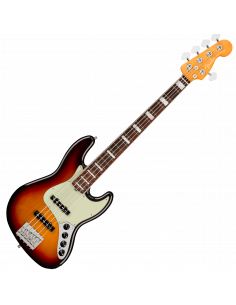Fender, Am Ultra Jazz Bass V, Rosewood, Ultraburst