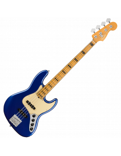 Fender, Am Ultra Jazz Bass, Maple, Cobra Blue