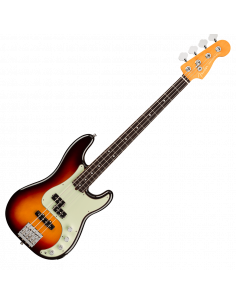 Fender, Am Ultra Precision Bass, Rosewood, Ultraburst