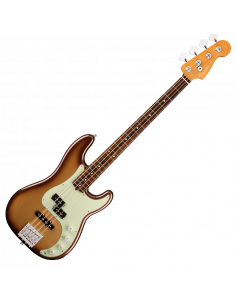 Fender, Am Ultra Precision Bass, Rosewood, Mocha Burst