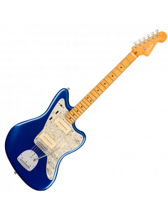 Fender, Am Ultra Jazzmaster, Maple, Cobra Blue