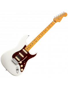 Fender, Am Ultra Stratocaster HSS, Maple, Arctic Pearl
