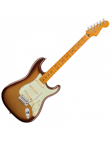 Fender, Am Ultra Stratocaster, Maple, Mocha Burst
