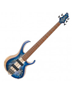 Ibanez - BTB845-CBL, Cerulean Blue Burst Low Gloss