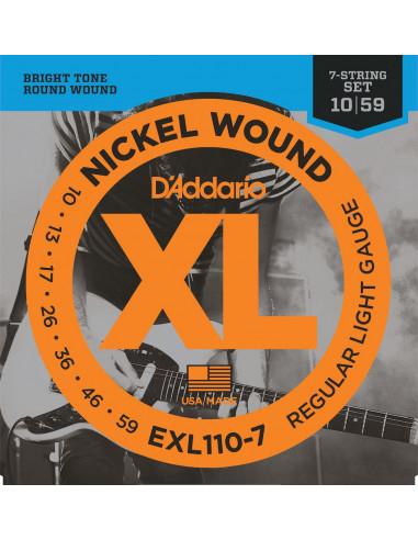 D'Addario,EXL110-7,Regular Light,10-59