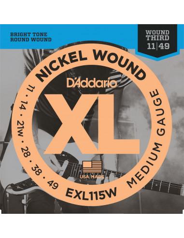 D'Addario,EXL115,Medium/Blues-Jazz Rock,11-49
