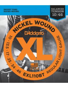 D'Addario,EXL110BT,Balanced Regular Light,10-46